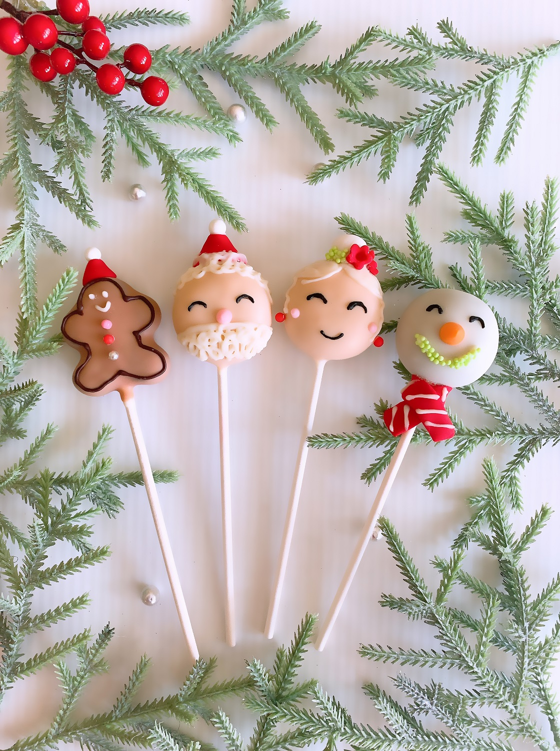 Kids Christmas Cake Pop Masterclass
