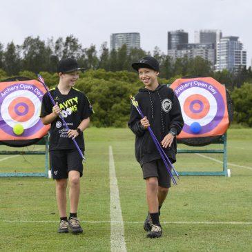 Archery at Sydney Olympic Park!