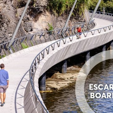 Escarpment Boardwalk Along Parramatta River NOW OPEN!