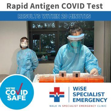 WISE Emergency Clinic, Macquarie Park Rapid Antigen Testing