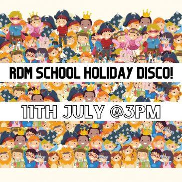 RDM July School Holiday Disco FAQs