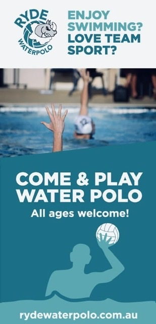 Try Water Polo at Ryde Aquatic centre this July