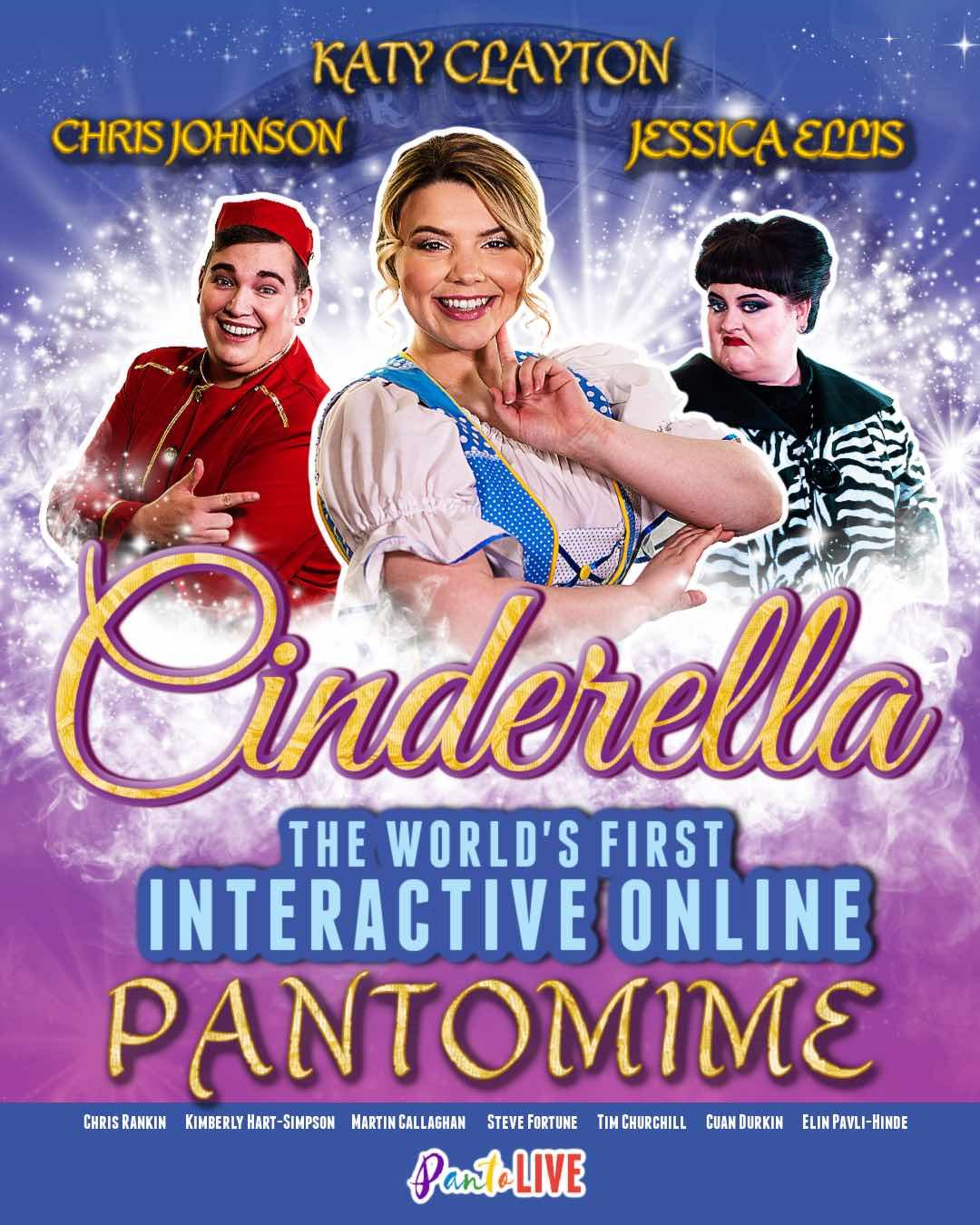 Cinderella Live- Online Winter Pantomime