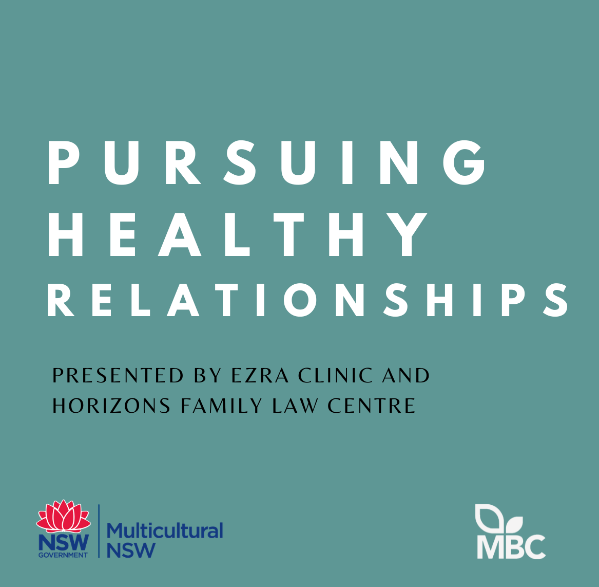 Pursuing Healthy Relationships