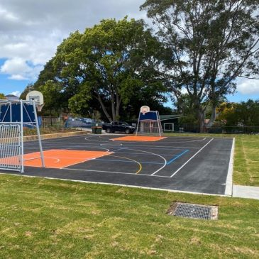 Basketball and Multi-Use Courts Near Ryde